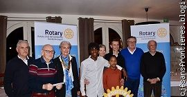 réception Rotary Dol Combourg